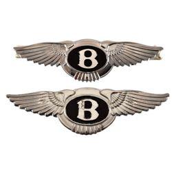 2 Bentley Winged Hood Ornaments
