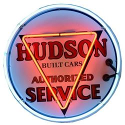 Hudson Service Neon Sign