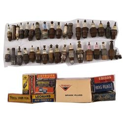 Collectiong of Vintage Spark Plugs