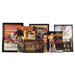 Collection of Reproduction Movie Posters