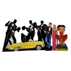 Collection of Stand Ups & Diecuts Betty Boop