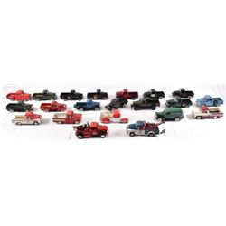Collection of Danbury Franklin Mint Pickup Trucks