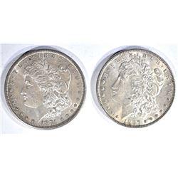 1881-S & 97 CH BU MORGAN DOLLARS BETTER DATES