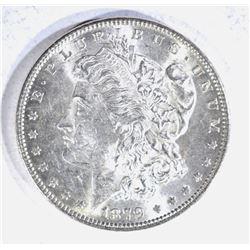 1879 M0RGAN DOLLAR, CH BU BETTER DATE