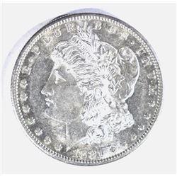 1881-S MORGAN DOLLAR, CH BU PL
