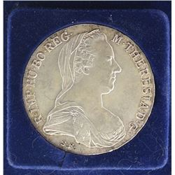 1780 M. THERESIA .833 SILVER COIN