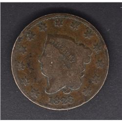 1828 LARGE CENT  XF