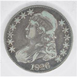 1826 BUST HALF DOLLAR, F/VF