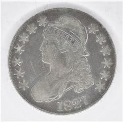 1827 BUST HALF DOLLAR, FINE
