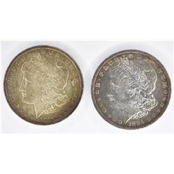 1884-O & 1885-O BU MORGAN DOLLARS