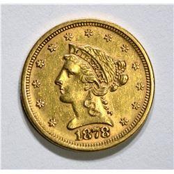 1878-S $2.50 GOLD LIBERTY, BU