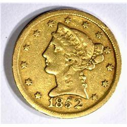 1852-D $5 GOLD LIBERTY