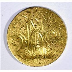 CLASSIC $2.50 GOLD LIBERTY LOVE TOKEN