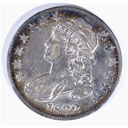 1832 CAPPED BUST HALF DOLLAR, AU/BU