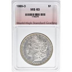 1889-O MORGAN DOLLAR, WHSG CH BU