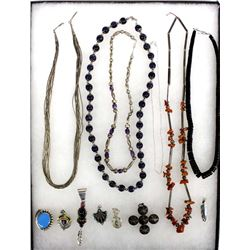 Collection of Jewelry, Some Native American