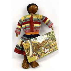 Seminole Cloth and Fiber Doll