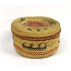 Lidded Whaler Basket