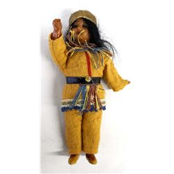 Rare German Made Native American Style Doll