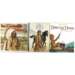 3 Softback Native American Themed Childrens Books