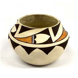 Native American Acoma Pottery Jar by M.L. Antonio