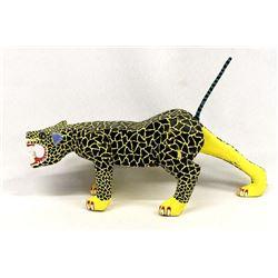 Oaxacan Alebrije Jaguar by Arrazola Sophia V.