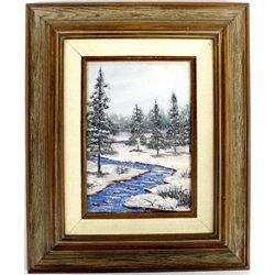 Original Oil Painting by Tucson Artist P. Pegnam