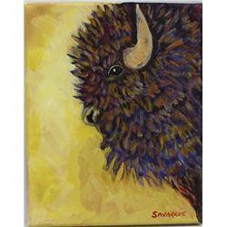 Original Oil Painting ''Buffalo Pride''