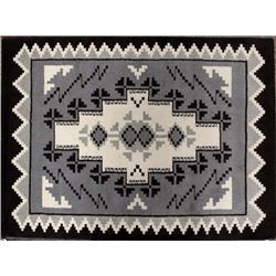 Gorgeous Brand New Anasazi Traders 100% Wool Rug