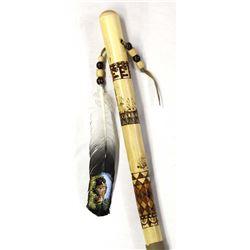 Phenomenal Hand Crafted Walking Stick by T. Chango