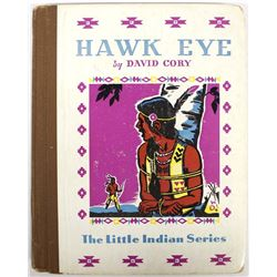 1938 Hawk Eye by David Cory, Hardback Book
