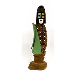 1993 Hopi White Chin Kachina by Melson Harris