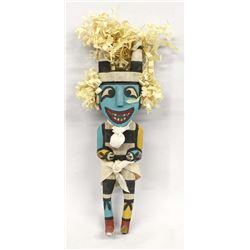Hopi Koshare Clown Kachina by Lem Poola
