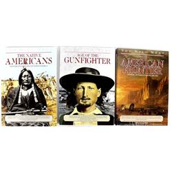 3 Volumes of Salamander's Wild West Trilogy