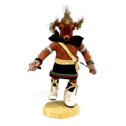 Hopi Mudhead Kachina by Jim Silva