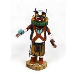 Hopi Badger Medicine Man Kachina by Esther Jackson