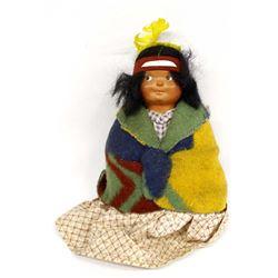 Vintage Skookum Shelf Sitter Doll