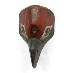 Northwest Coast Carved Wood Bird Mask