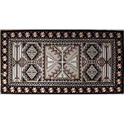 Gorgeous Brand New Anasazi Traders 100% Wool Rug