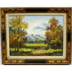 Framed Original Oil Painting by J. Childe