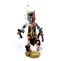 Native American Navajo ''Old Man'' Kachina by James