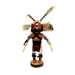 Hopi ''Wasp'' Kachina by Phillip Jackson