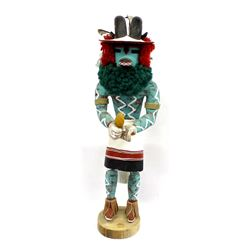 Native American Hopi Carved Wood Ram Kachina
