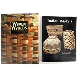 2 Softback Books on Native American Baskets