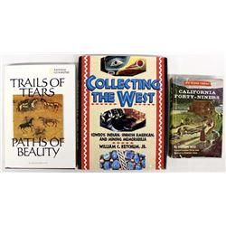 3 Hardback Books