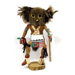 Vintage Native American Navajo Owl Kachina