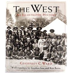Hardback book The West-An Illustrated History
