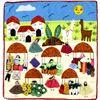 Image 2 : 3 South American Peruvian Folk Art Arpilleras