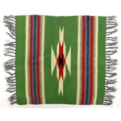Chimayo 100% Wool Fringed Textile