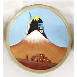 Hopi Pottery Plate by Gertrude Adams (1st Mesa)